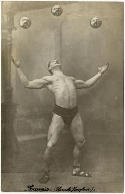 Hercules the juggler